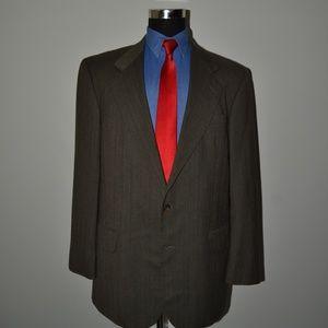 Oscar de la Renta 44L Sport Coat Blazer Suit Jacke
